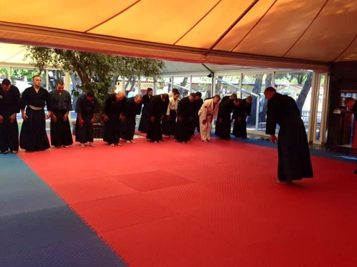 Grupo aikijujutsu