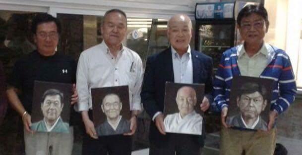 obsequio a los Maestros japoneses
